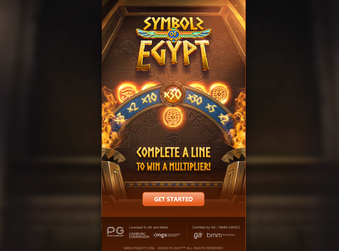 Symbols of Egypt Slot Online (1)
