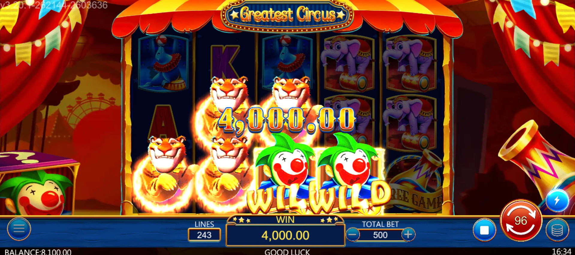 Greatest Circus Slot Online (2)