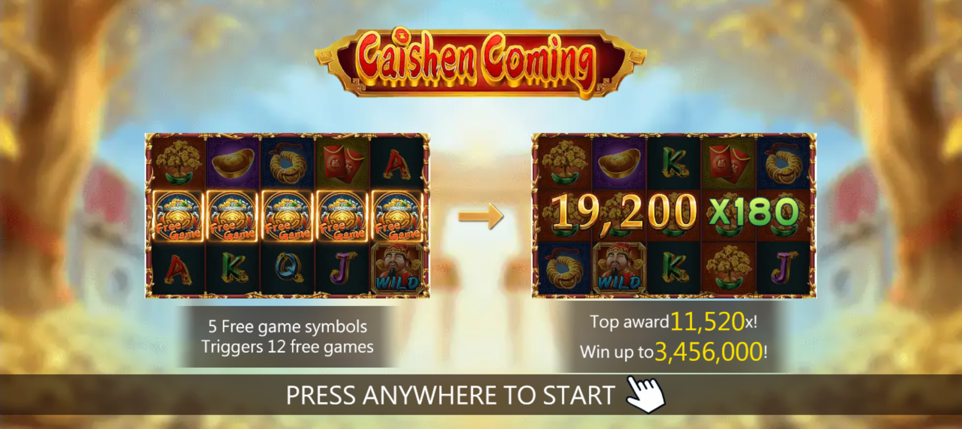 Caishen Coming Slot Online (2)
